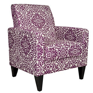 angelo:HOME Provence Purple Sutton Arm Chair