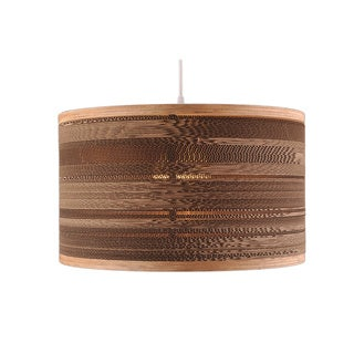 Extra Large Single-light Corrugated Drum Light