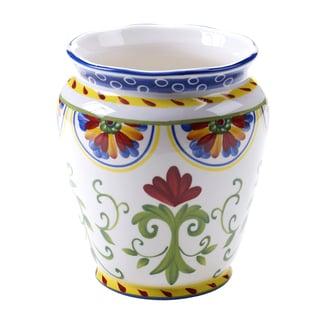 Hand-painted Amalfi 8.5-inch Wine Cooler