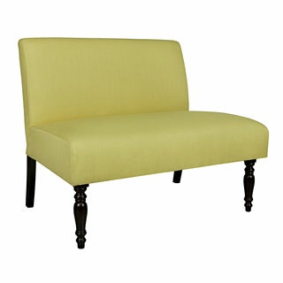 angelo:HOME Kiwi Lime Green Basket Bradstreet Armless Settee