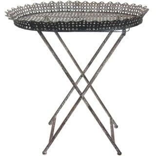 Collapsible Circular Iron Tea Table (China)