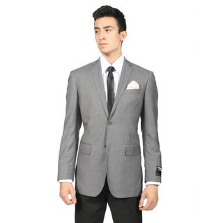 Ferrecci Men's Slim Fit Grey 2-button Sport Coat