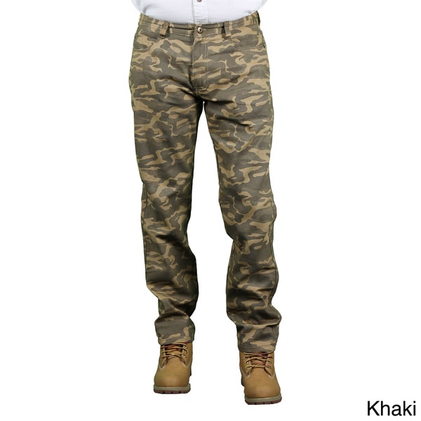 MO7 Men's Slim Fit Camo Print Pants
