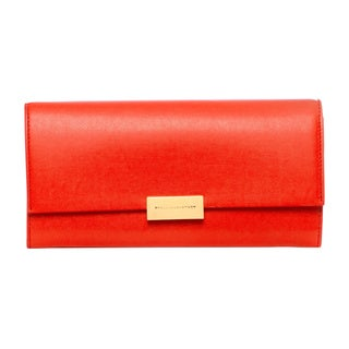 Stella McCartney 'Beckett' Lipstick Red Continental Wallet