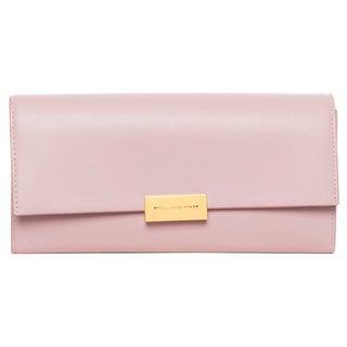 Stella McCartney 'Beckett' Light Pink Continental Wallet