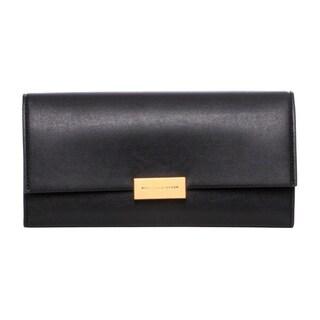 Stella McCartney 'Beckett' Black Continental Wallet