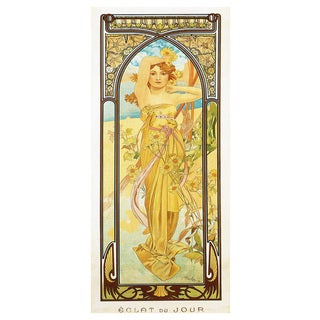 Alphonse Mucha Day Print Fine Art Giclee Prints