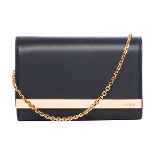 Fendi Mini Rush Evening Clutch/Crossbody Bag