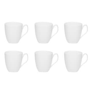 Red Vanilla Trends 12-ounce Mug (Set of 6)