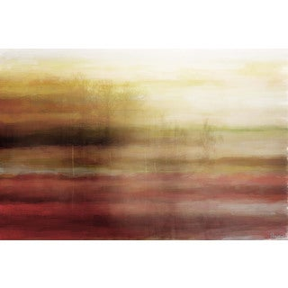 Parvez Taj 'Misty Morning' Canvas Art
