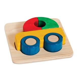 Guidecraft Primary Puzzle Car