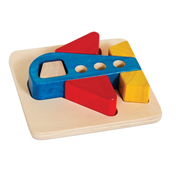 Guidecraft Primary Puzzle Airplane