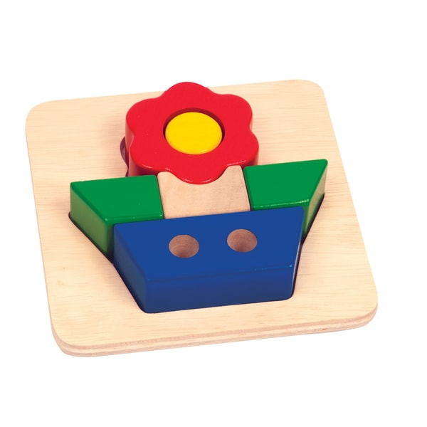 Guidecraft Primary Puzzle Flower