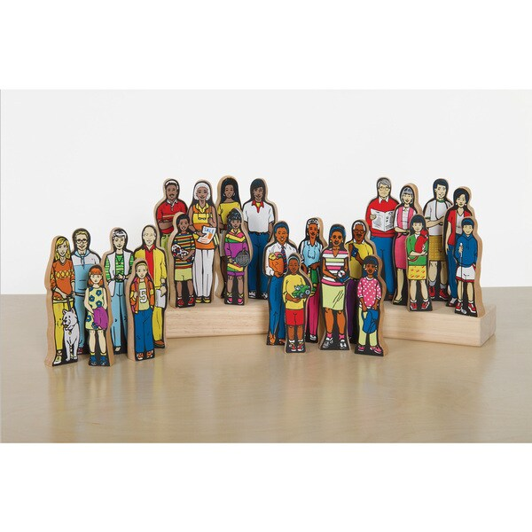 Multi-Cultural 24-piece Family Set