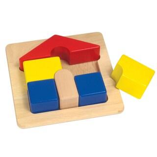 Guidecraft Primary Puzzle House