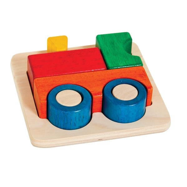 Guidecraft Primary Puzzle Train