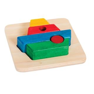 Guidecraft Primary Puzzle Boat
