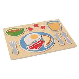 Guidecraft Sorting Food Tray Breakfast