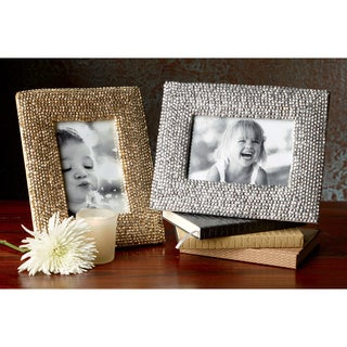 Shimmering Diamonds 4x6 Frame (Set of 2)