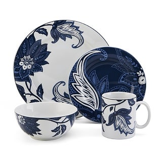 Nautica Tisbury Blue 4-piece Place Setting