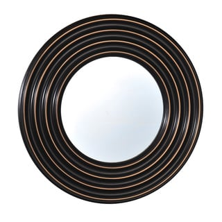 Elements 27-inch Black Four-rib Plastic Mirror