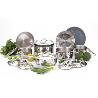 Paderno Canadian 14-piece Cookware Set