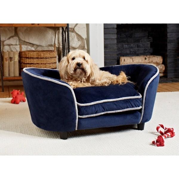 Enchanted Home Pet Ultra Plush Large Snuggle Furniture Pet Bed