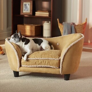 Ultra Plush Snuggle Furniture Pet Bed with Storage