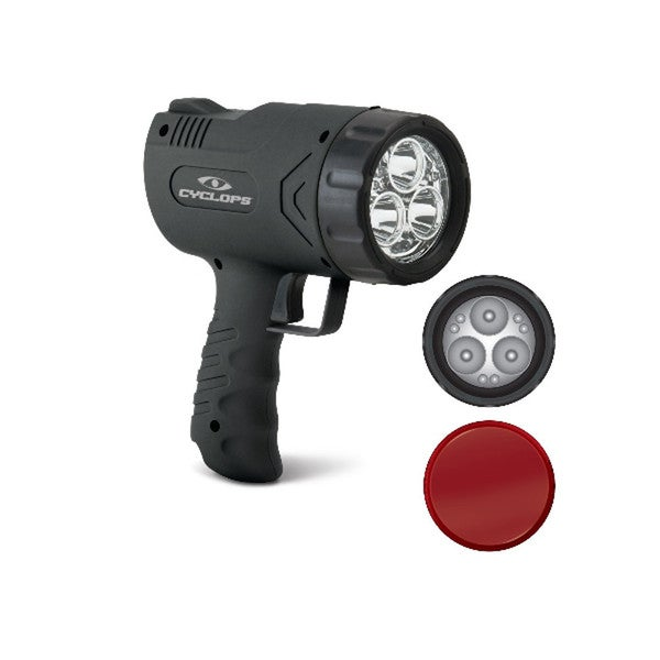GSM Cyclops Sirius 500 Lumen Rechargeable Handheld Spotlight 13006326