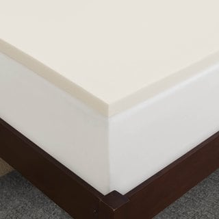 Cool Breeze Ventilated 1-inch Memory Foam Mattress Topper