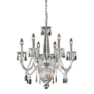 Elk Lighting Banburgh 6-light Crystal Chandelier