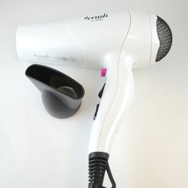 One Styling Crush White Dryer