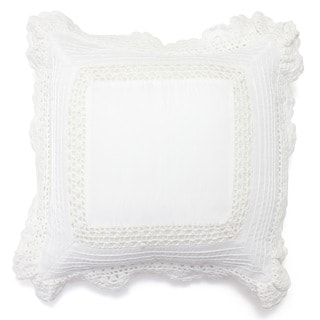 Bella Crochet Cotton Pillow