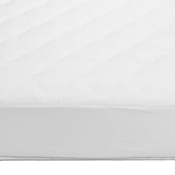 Ivy Union Cotton Top Damask Twin XL Mattress Pad