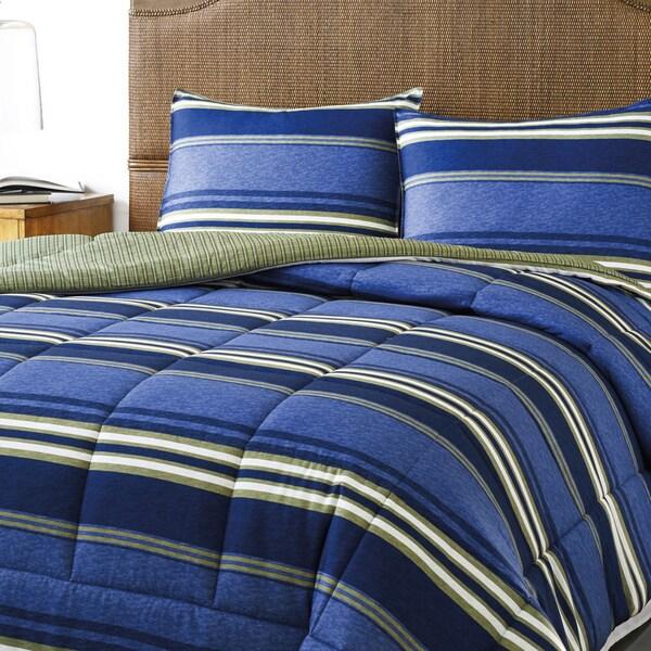 Eddie Bauer Friday Harbour Reversible 3-piece Comforter Set