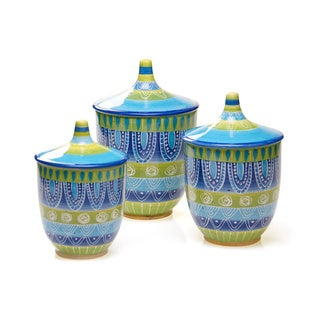 Tapas 3-piece Ceramic Canister Set