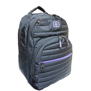 Ogio Black/ Orchid Puff 16-inch Laptop Backpack