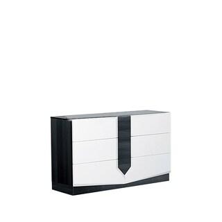Hudson White/ Grey Dresser