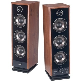 Genius SP-HF2020 V2 2.0 Speaker System - 60 W RMS - Wood