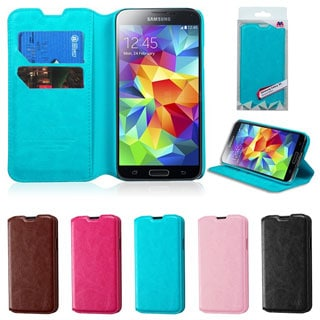BasAcc Wallet Card Slot Book-style Leather Case for Samsung Galaxy S5/ SV