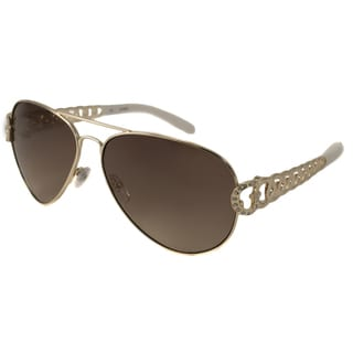 Guess Women's GU7255 Aviator Sunglasses