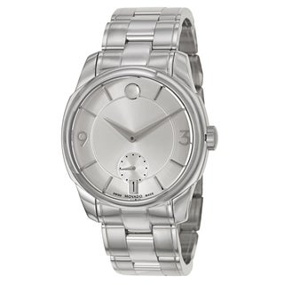 Movado Men's 0606627 'Movado LX' Stainless Steel Swiss Quartz Watch