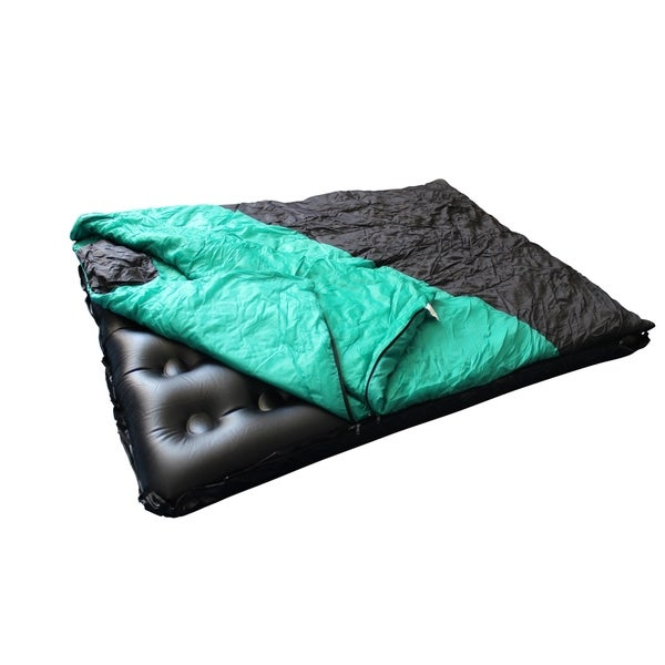 Camping Detachable Sleeping Bag with Air Bed