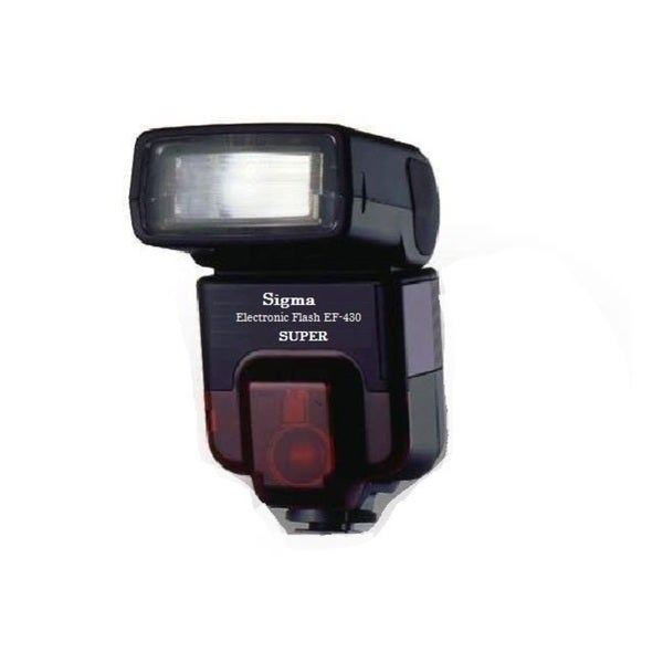 Sigma EF-430 Super TTL Shoe Mount Flash for Minolta Maxxum
