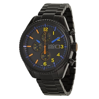 ESQ by Movado Men's 07301452 'Catalyst' Black Stainless Steel Chronograph Watch