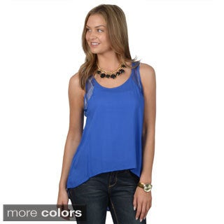 Hailey Jeans Co. Junior's Lightweight Sleeveless Top