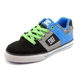 DC Boy (Youth) 'Pure' Leather Athletic Shoe