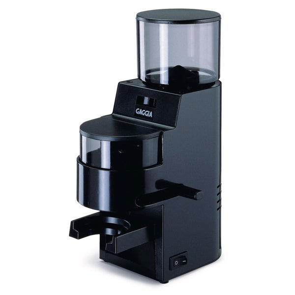 Gaggia 8002 Black MDF Burr Grinder with Doser