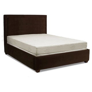 Christopher Knight Aloe Smooth Top 8-inch Full-size Gel Memory Foam Mattress with Bonus Pillow