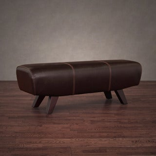 Austin Vintage Tobacco Leather Pommel Bench
